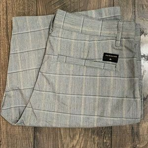 Quicksilver Men's Plaid Shorts